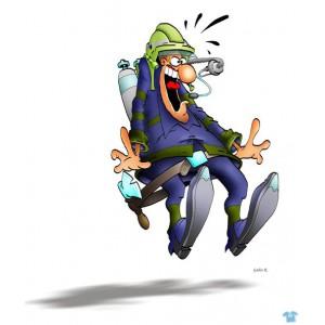 Překvapený hasič 2