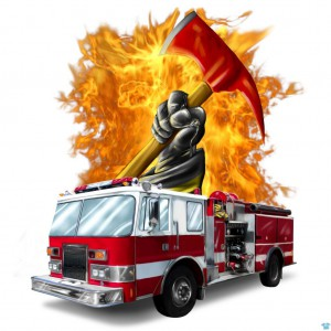 Fire Truck&Glove