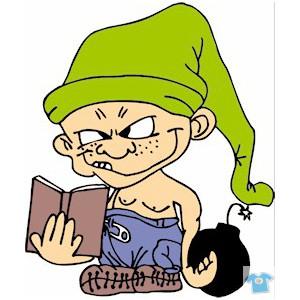 Kluk s knihou